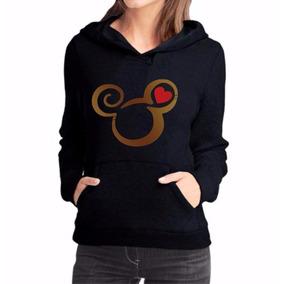 Moletom Feminino Mickey Blusa De Frio Personalizado Mod 10