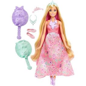 Boneca Barbie Princesa Cabelos Coloridos - Mattel