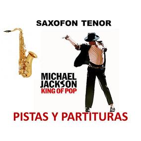 Saxofón Michael Jackson / Hits / Pistas Y Partituras