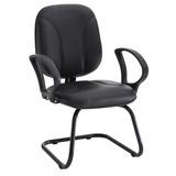 Cadeira Para Escritório Unimóvel Com Balanço - Preto