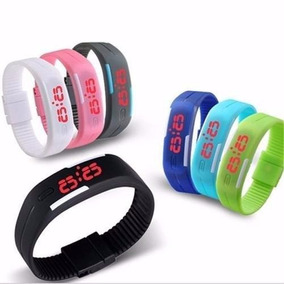 30 Relógio Led Digital Sport Estilo Nike Pulseira Silicone.