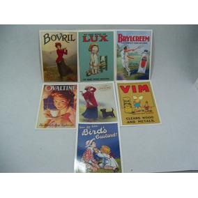 Lote Cartões Postais Estilo Vintage Robert Opie Collection