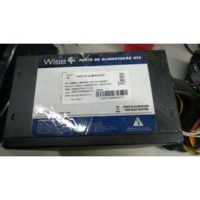 Fonte Atx 24 Pinos + Sata Wise Case 500w 1x12 500w Pci-e