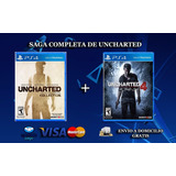 Uncharted 4 + Uncharted Collection Ps4 Físicos Oferta
