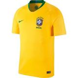 Camisa Pré Jogo Nike - Camisa Brasil Masculina no Mercado Livre Brasil 5d3ca0191da14