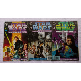 Hq Star Wars O Império Do Mal Completo 3 Edições.