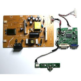 Placa Principal+controle+fonte Inverter Monitor Aoc F19l