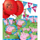 Lote Decoração Festa Completa Peppa Pig