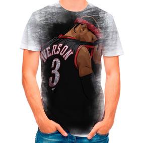 Camisa Camiseta Basquete Allen Iverson Nba 282 e3cf34a858116