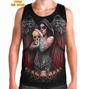 Regata Mcd Catrina - Camisetas para Masculino no Mercado Livre Brasil feff1161701