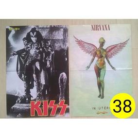 Poster Kiss Gene Simmons / Nirvana In Útero 38 Metal Head