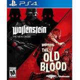 Wolfenstein: The Two Pack - Ps4 Playstation 4 - Nuevo