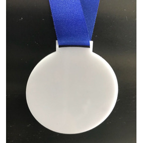 180 Medalha Branca Para Personalizar