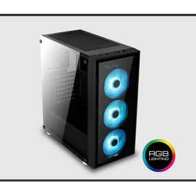 Gabinete Gamer Mid Tower Usb 3.0 | Aerocool Quartz Rgb Mdq