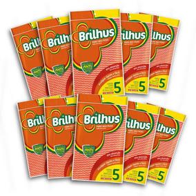 Kit Com 10 Brilhus Pano Multiuso Almofada Lr Bettanin