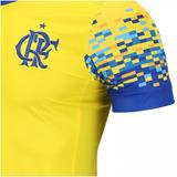 Camisa Flamengo Azul E Amarela - Futebol no Mercado Livre Brasil 8ddbb144b8cf8