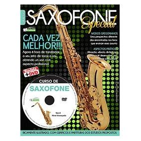 Método Saxofone Terceira Edição Dvd + Revista