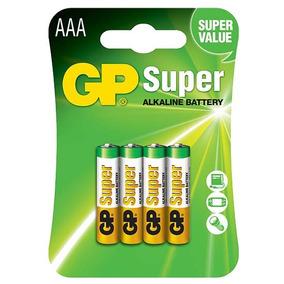 Pila Aaa Super Alcalina Gp Original Blisterx4 Oferta Por Hoy