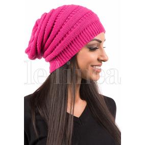 Touca Caida Rosa Trico Toucas Feminino - Acessórios da Moda no ... c0342a6919e