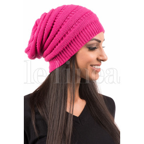 Touca Caida Rosa Trico Toucas - Acessórios da Moda no Mercado Livre ... 9dbe1314130