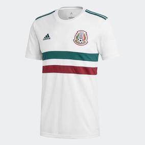 Jersey México Blanco 2018 Copa Del Mundo Rusia 2018 Rotulado 1bd1ffe3abc81