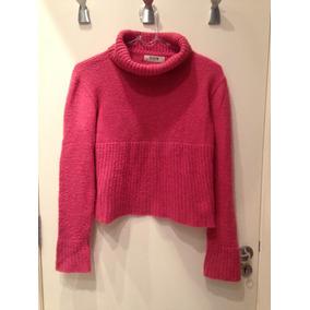 Blusa De Inverno Rosa Tok Tricot Tamanho 42