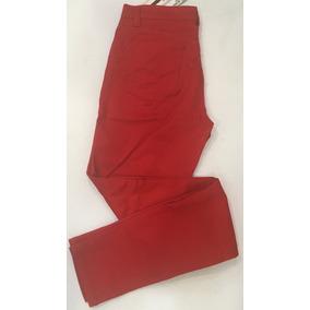 Pantalon De Dama Gabardina Scandia Pomp Push Casual Fit