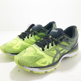 Tênis Asics Gel Nimbus 19 Masculino Verde Limão preto - Calçados ... 149cb2803d92f