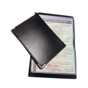 Porta Documentos De Carro E Moto Couro Carteira Fina Ref 241