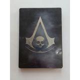 A. Creed Black Flag Caja Metálica + Soundtrack Xbox 360