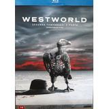 Blu-ray Westworld 2ª Temporada A Porta 4 Discos Frete R$15