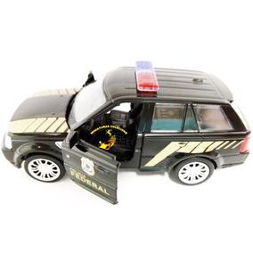 Miniatura Land Rover Range Rover Polícia Federal 1:32 Rmz