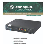 CANOPUS ADVC 1000 DRIVER FOR WINDOWS MAC