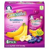 Gerber Graduados Grabbers - Banana Arándano 1.05lb Box