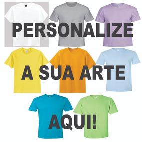Camisetas Personalizadas Coloridas A Partir De R$6,00