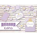 Kit Imprimible Sofia Princesas Coronas Candy Bar Baby Shower