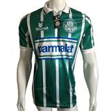 Camisa Palmeiras Listrada Parmalat Blusa Campeão 1993 Retrô