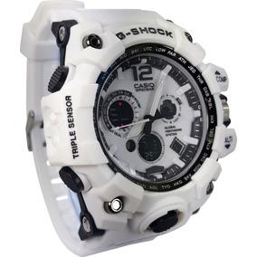c6f0e080f44 Casio Outgear Amw107 Branco A o Esportivo Masculino - Relógios De ...