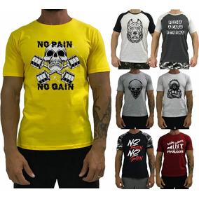 7 Camiseta Masculina Manga Blusa T-shirt Camisa Original Fit