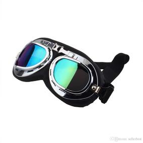 Óculos Retrô Vintage Para Capacete, Carting Goggles