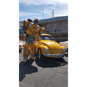 Roupa Robô De Led Bumblebee Festa Evento