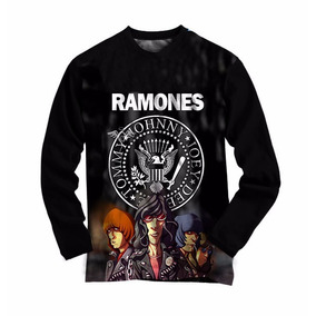 2021451338e2c Camisa Dos Ramones Para Meninas Cor Preta Camisetas - Camisetas e ...