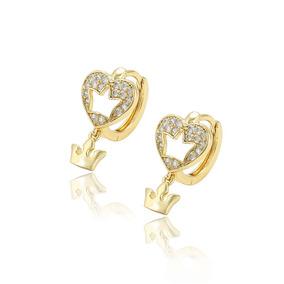 15e85309c2c5 Aretes De Oro 14k Diamantes - Aretes Oro en Mercado Libre México