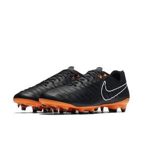 Chuteira Nike Tiempo Legend Cinza E Laranja - Chuteiras no Mercado ... 6e520f51bf39c