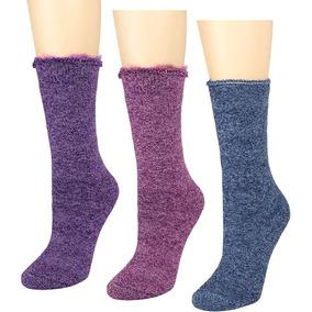 Calcetas Térmicas Nieve Para Frio Mujer Y Hombre 3 Pares