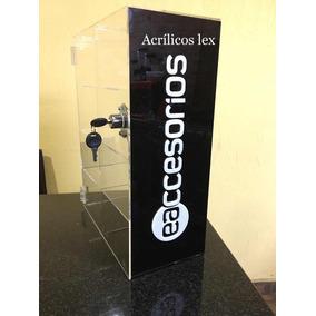 Exhibidor De Acrilico Accesorios 40 De Alto X30 X15 De Fondo