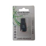 Mini Leitor Adaptador Usb Cartão M2 E Micro Sd