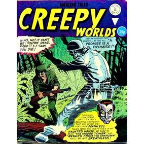 Creepy Worlds 203 ( Inglaterra-anos 60)-histórias De Terror