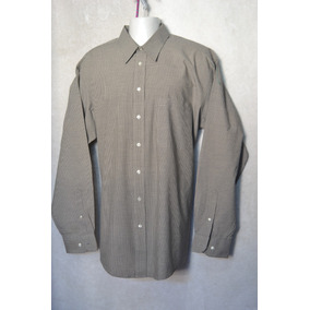 Camisa Sttaford Talla 16.5-36 37 Hombre Original Café Nueva c26300a20a0
