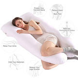 Almohada De Embarazo De Cuerpo Completo De Wannafree - 55 En